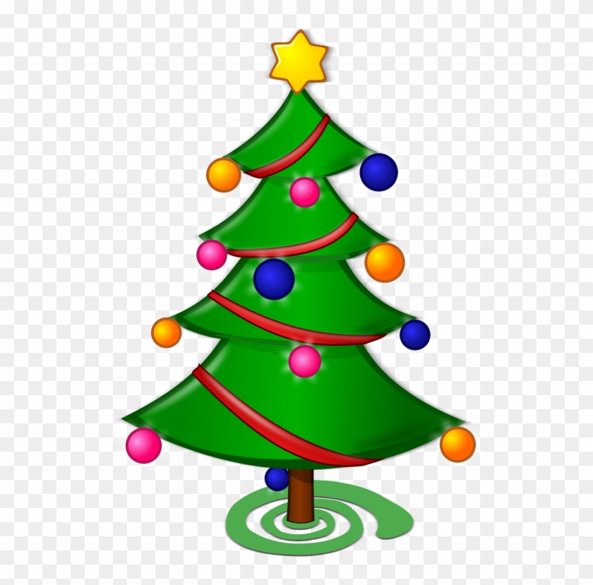Clipart - Merry Christmas Tree Drawing #229742