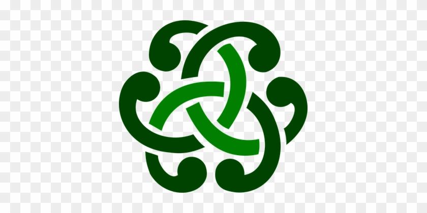 Celtic Ornament Green Celtic Celtic Celtic Celtic Symbol For
