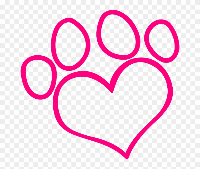 Best Mates Dog Grooming - Silhouette Dog Paw Print #229882