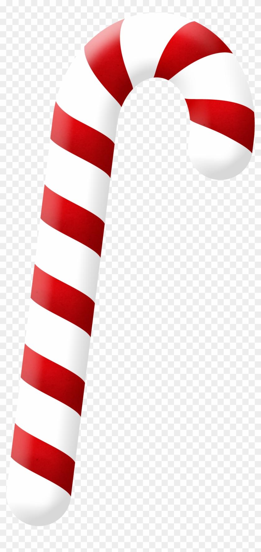 Christmas Candy Cane Clip Art - Christmas Candy Cane #229966