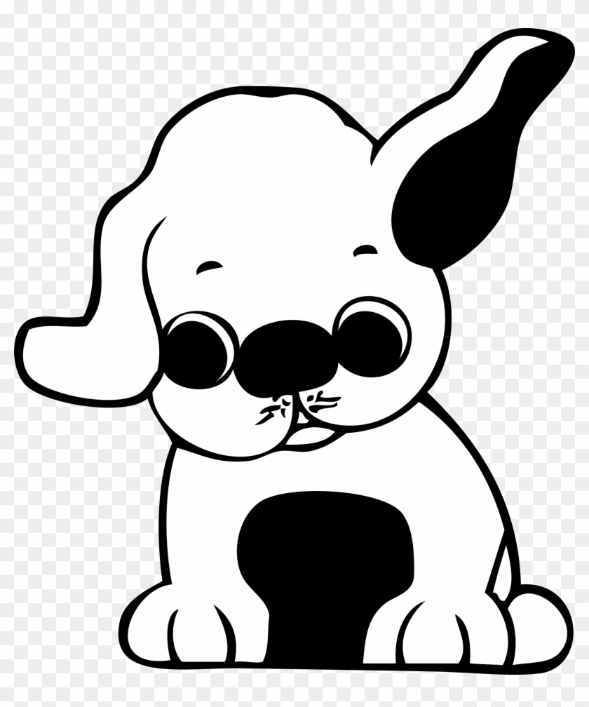 Puppy Clip Art At Clker - Valentines Puppies Color Pages #230795