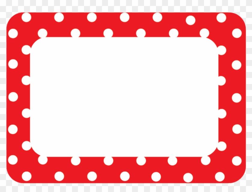 polka dots magnetic labels red polka dot border free transparent