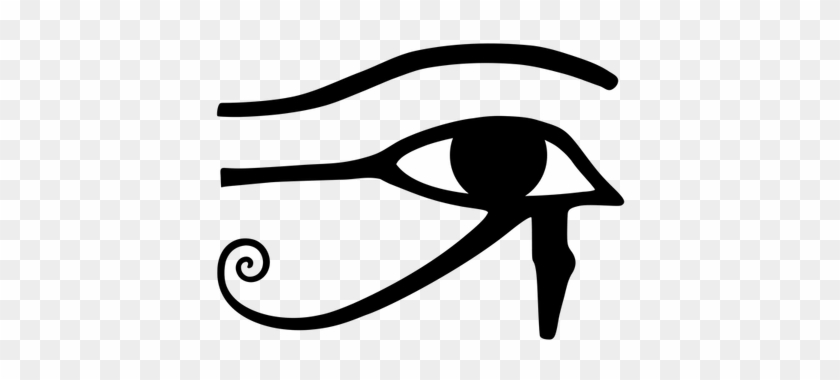 Picture Black And White Stock Egyptian Symbols Of Full - Eye Of Horus Svg #1458171