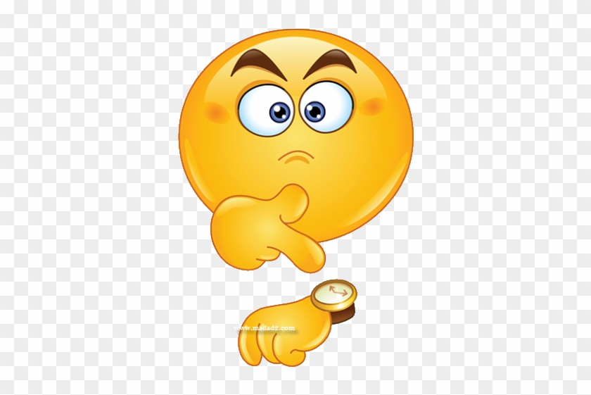 Time Out Clipart 55607 - Emoji Looking At Watch #1459483