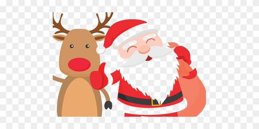 Christmas @ Red Mountain Open Farm - Christmas Merry Santa Vector #1461127