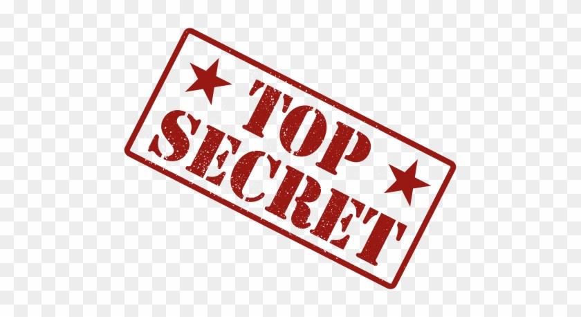 Top Secret Self Inking Rubber Stamp