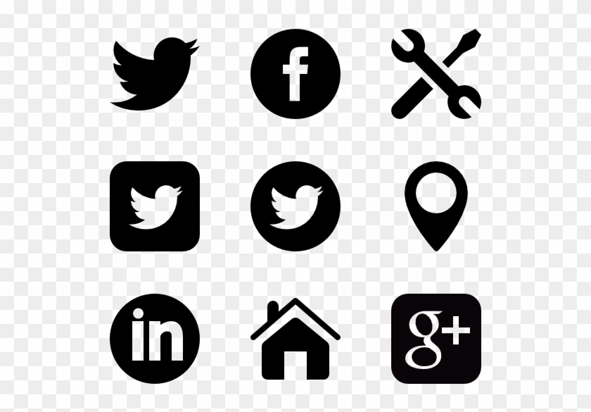 Elegant Font - Social Networking Logo Png #1461604