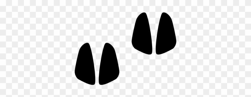 Moose Clipart Footprint Pig Foot Print Clip Art Free Transparent Png Clipart Images Download