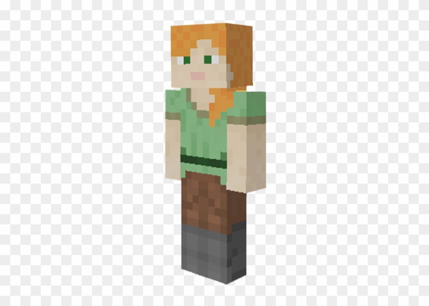 minecraft steve and alex png