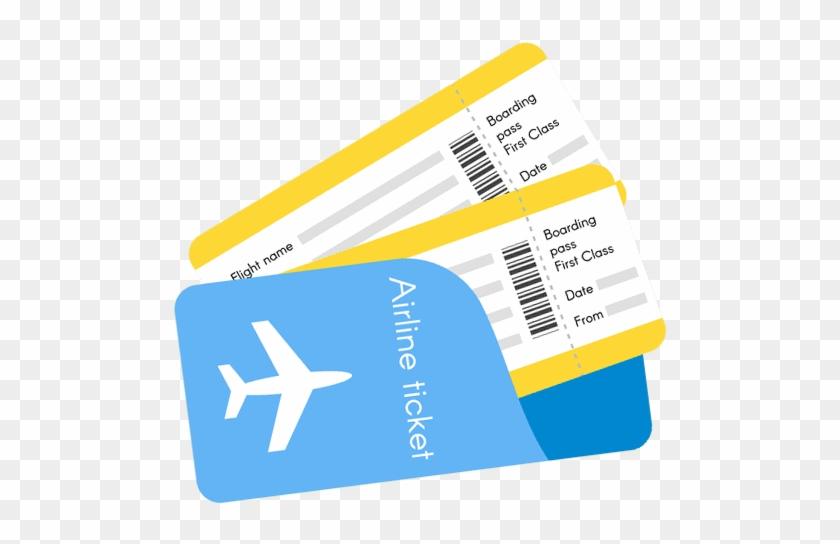 Transparent Airplane Ticket Clipart