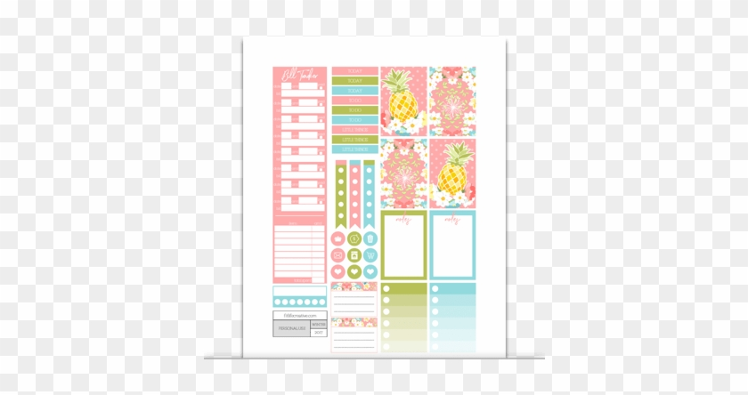 picture relating to Free Happy Planner Printables named Clip Artwork Cost-free Planner Printables - Satisfied Planner Clic