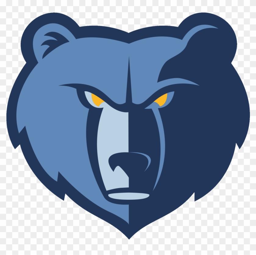 Barlow Elementary School - Memphis Grizzlies Logo #1464201