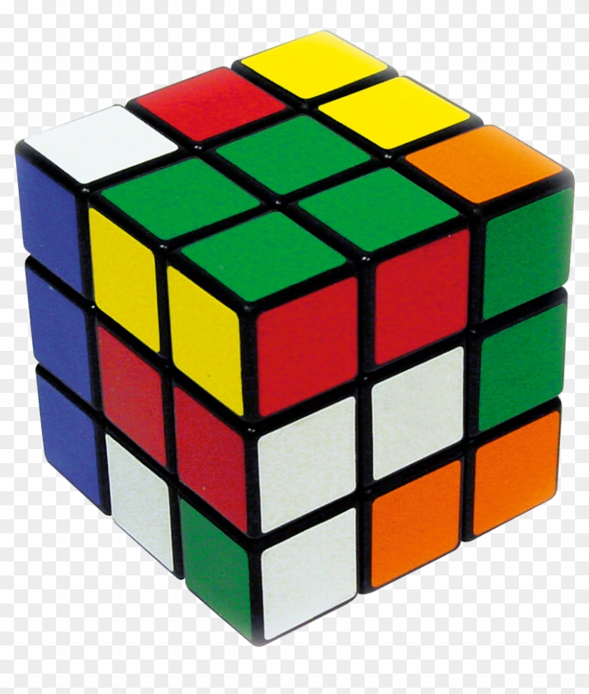 Clip Art - Invented The Rubix Cube #1464707