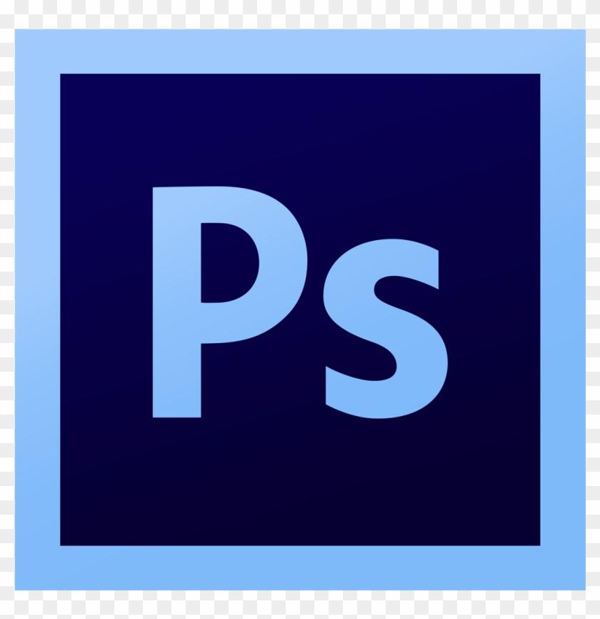 Photoshop Logo Clipart Blue - Illustrator Photoshop Logo Png #1464833