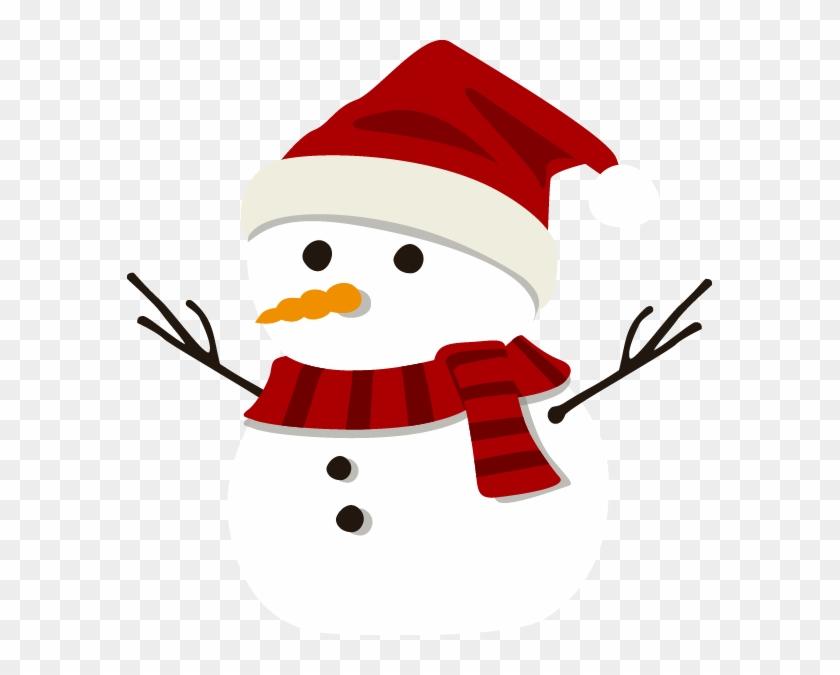 Clipart Free Download Cartoon Clip Art Cute Pattern - Christmas Snowman Cartoon Images Cute #1465219