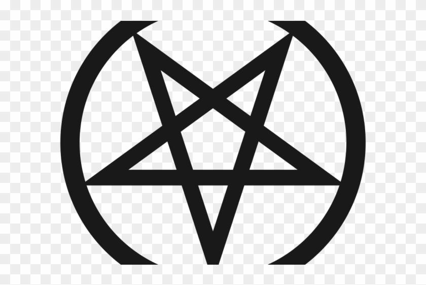 Pentacle Clipart Logo - Pentagram Red #1465717