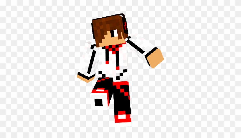 Banner Black And White Library Teen Nova Skin Cool Cool Red Skin Minecraft Free Transparent Png Clipart Images Download
