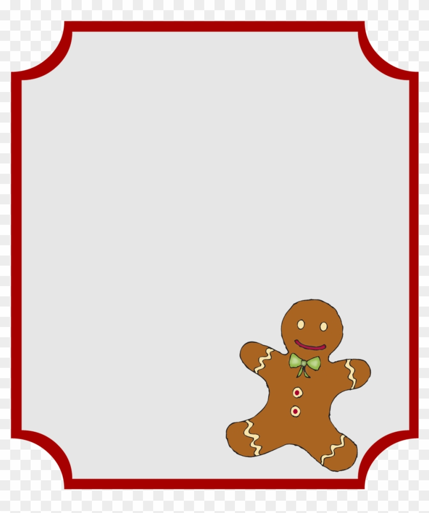Christmas Name Tag Clip Art Library Library - Christmas Gift Tags Clipart #1466520