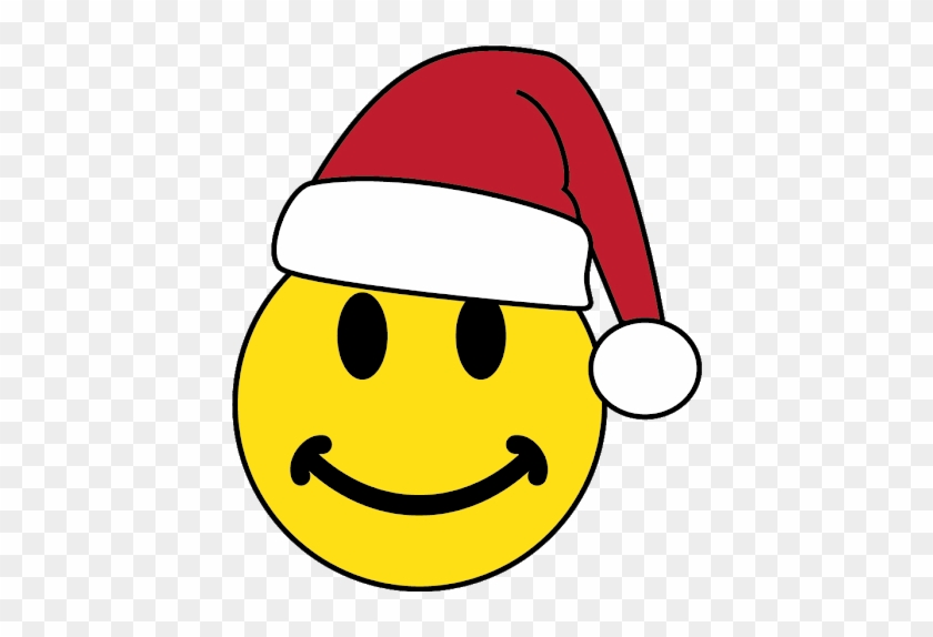 Santa's Song - Emoji With Christmas Hat #1466749