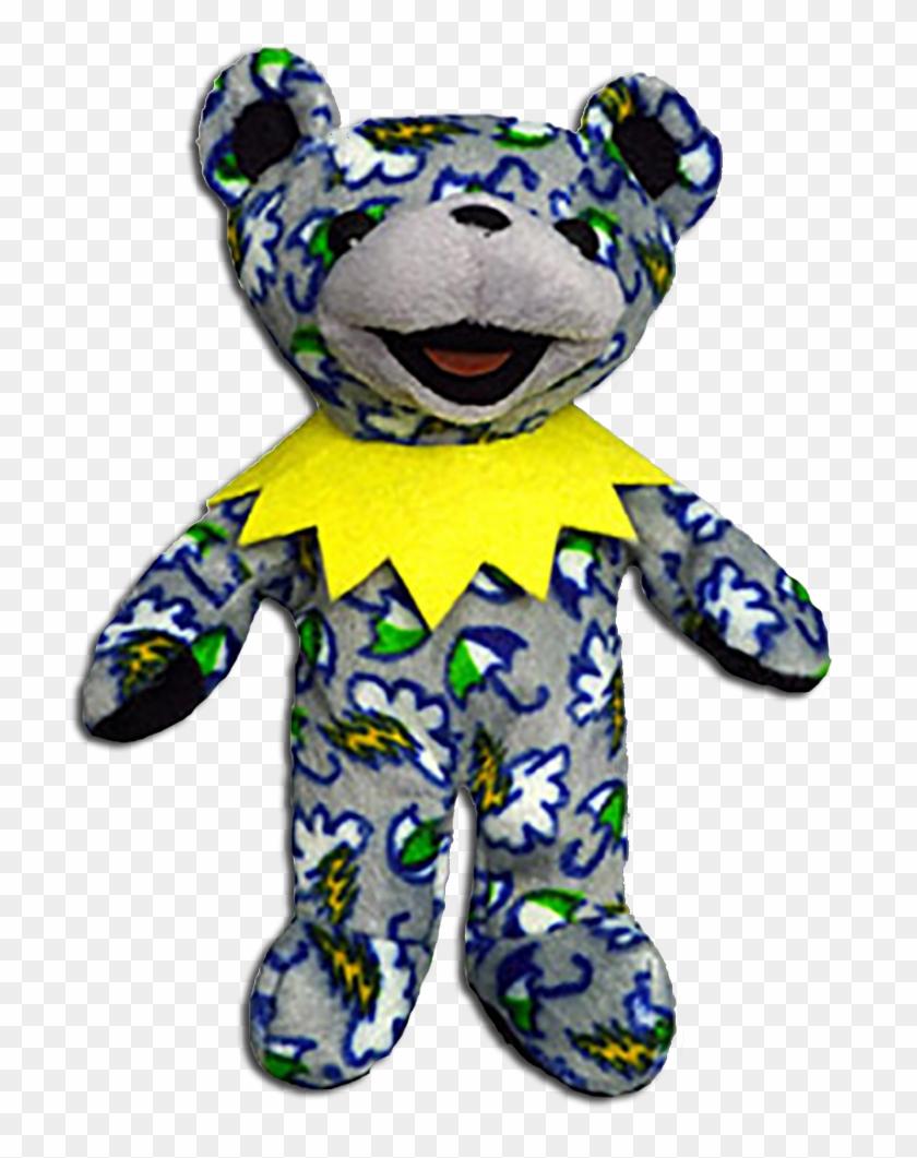 Grateful Dead Limited Edition Cold Rain Bean Bear - Grateful Dead Bears Grateful Dead Bear Cold Rain #1467615