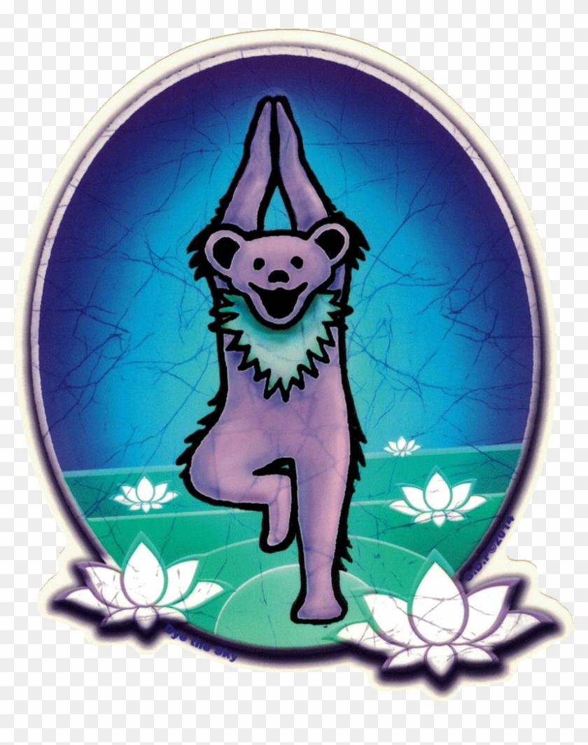 Grateful Dead Yoga Bear - Grateful Dead Yoga Bear #1467621