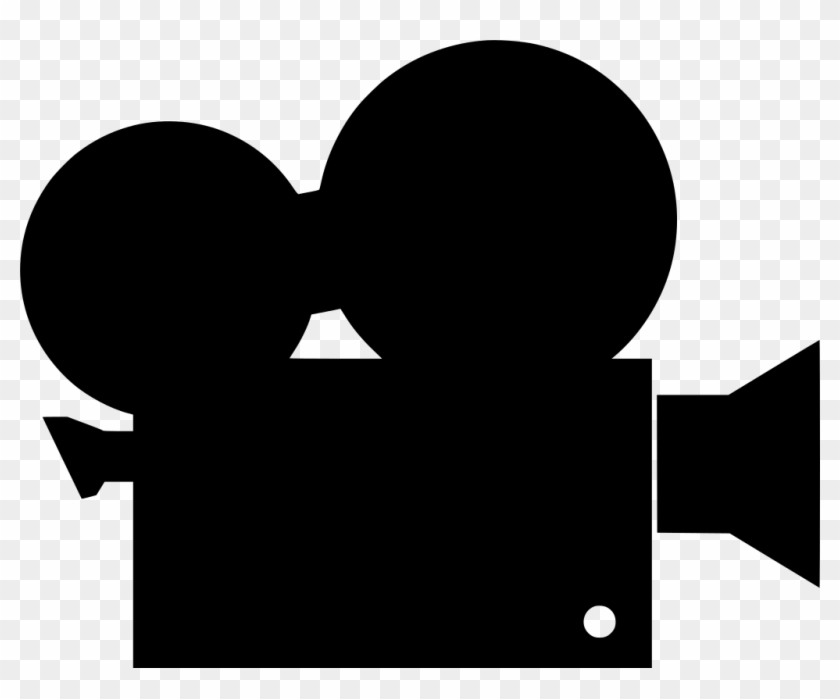 Svg Movie Free Image Icon Silh Info - Video Camera Clipart Png #1467670