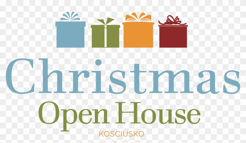 Christmas Open House, 1-5pm - Merry Christmas Banner Png #1468529