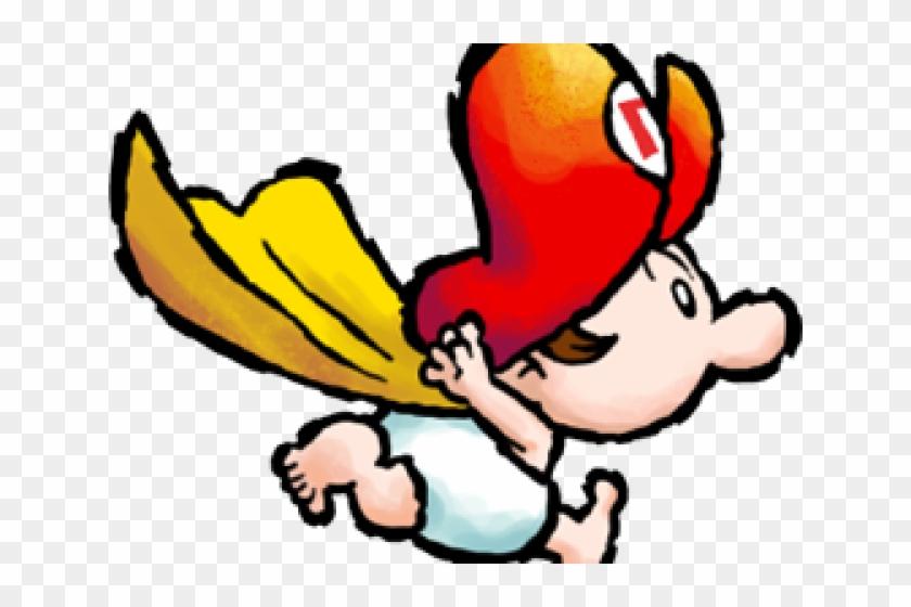 Kleurplaten Baby Yoshi.Super Mario Clipart Baby Baby Mario Free Transparent Png Clipart