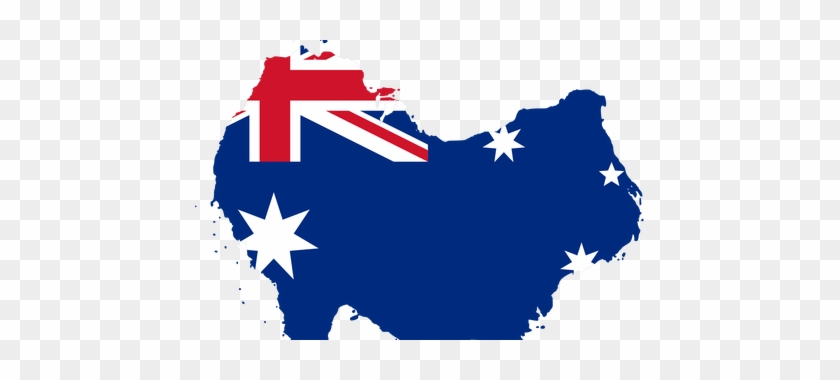 Australia Map Svg.Svg Royalty Free Stock Map With Flag Path Australia Flag Vector