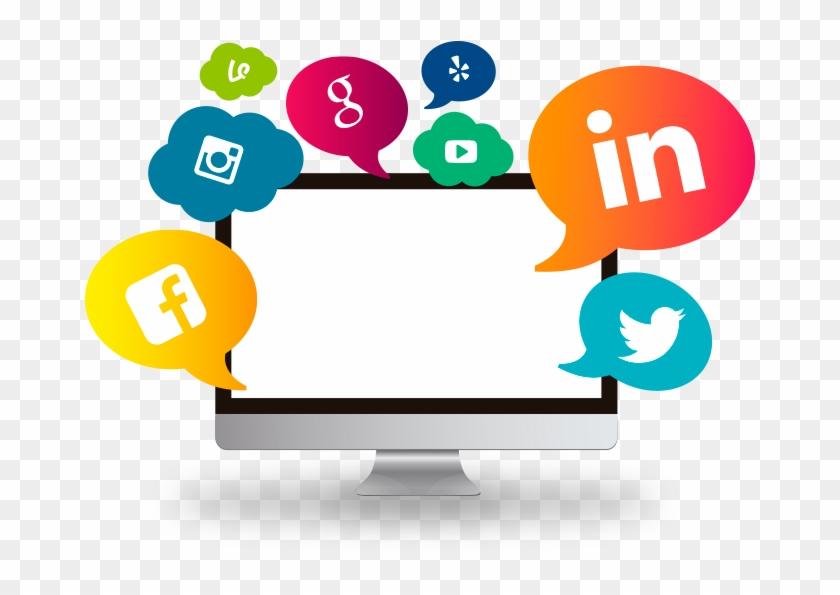 Social Media Clipart Marketing Sale Service - Digital Commerce Logo Png #1470512
