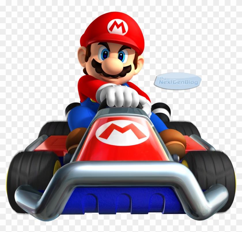 Martín 3 Super Mario Kart, Super Mario Brothers, Saga, - Mario Kart 7 - Game Console #1472042