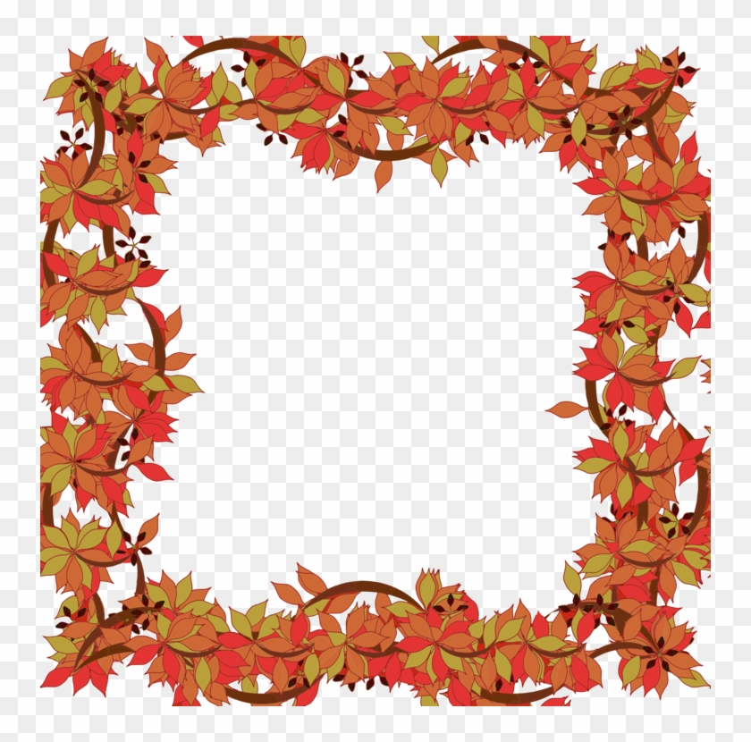 All Photo Png Clipart - Frames Cliparts Floral #1474057