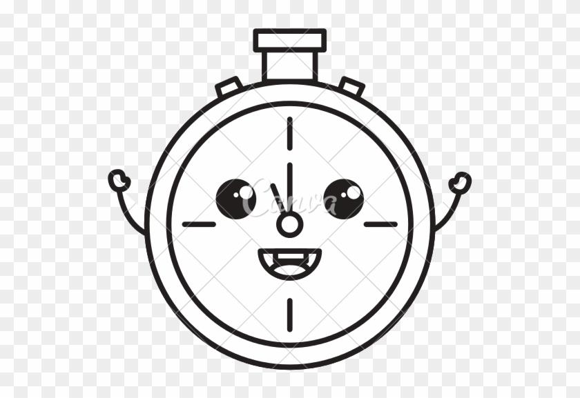 Clipart Royalty Free Library Drawing At Getdrawings - Cute Clock Drawings #1474369