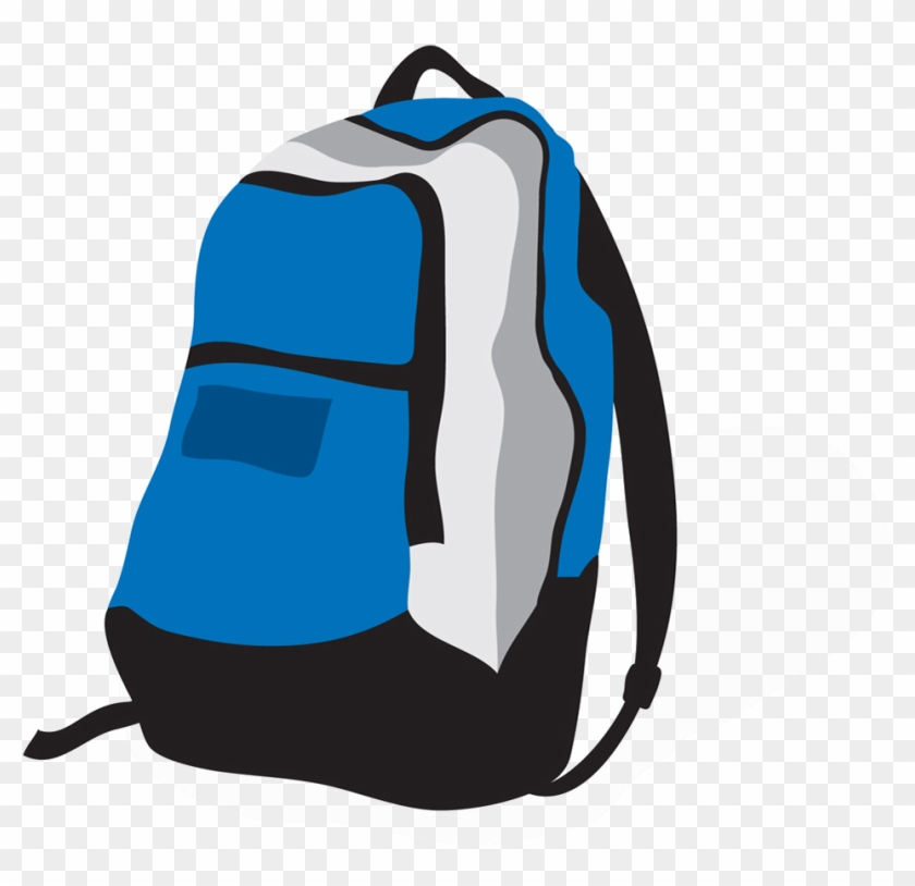 Backpack Clipart - Cartoon Backpack Png #231004