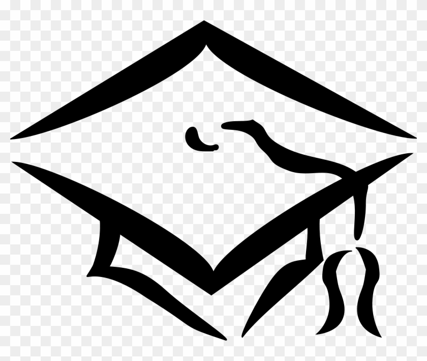 Pine Mountain Middle School Visual Art Graduation Cap Clip Art