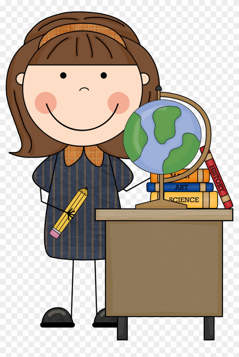 Miss Jennifer Natale - Scrappin Doodles Teacher Clipart #231225