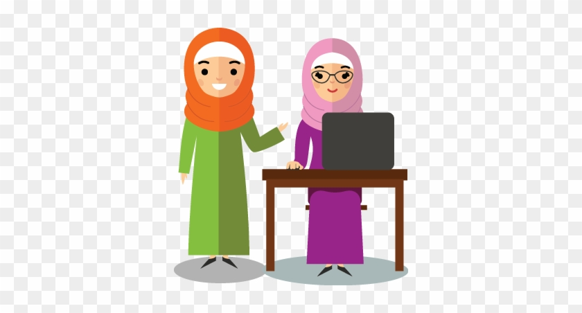 Muslim Kids Tv Is A Valuable Resource For Part Time, - Muslim Teacher Clipart Png #231294