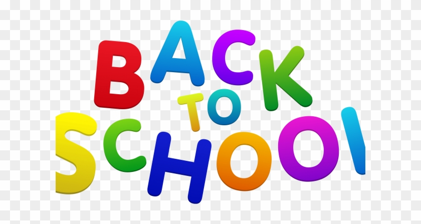 Back To School Clipart 2 - Welcome Back To School #231368
