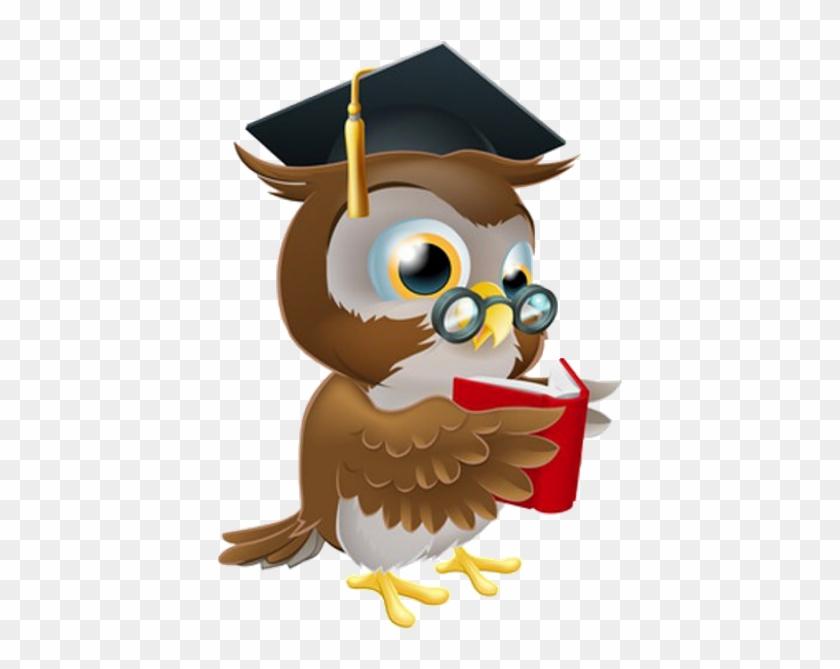 Cute Owls Clip Art Teacher - Owl School #231416