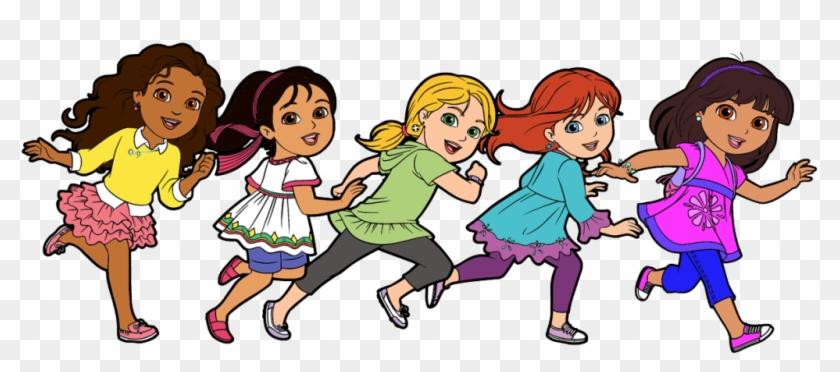 School Friends Clipart Dora And Friends Clipart Cartoon Dora And