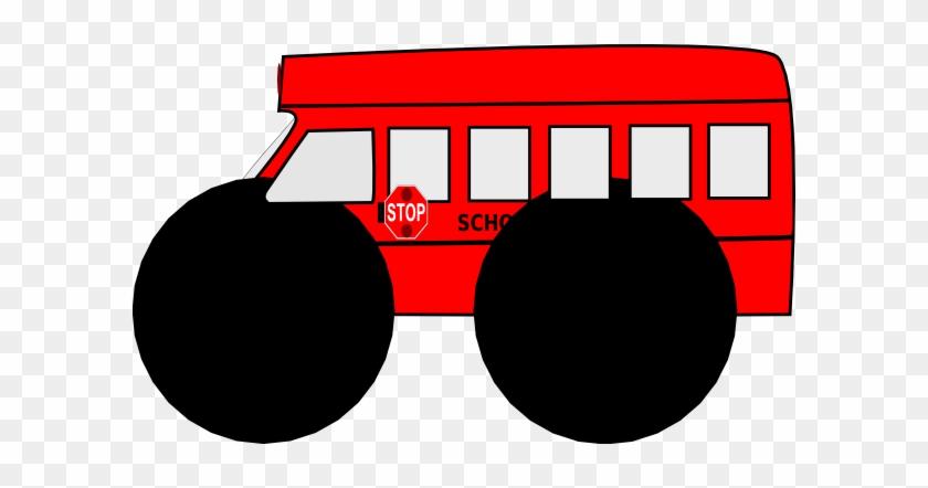 Green School Bus Clipart #231478