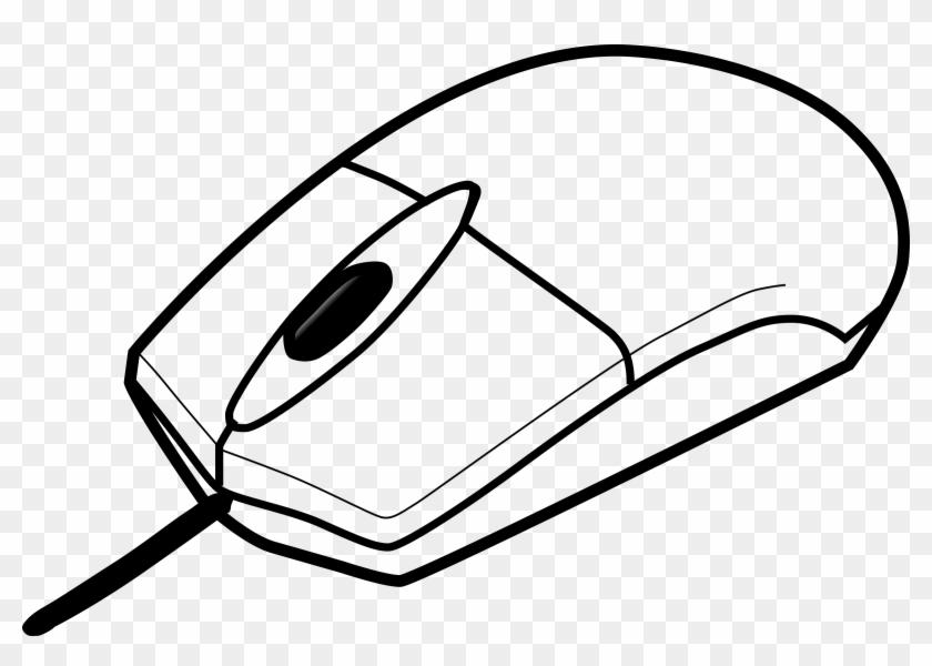 Onlinelabels Clip Art - Computer Mouse For Coloring #231795