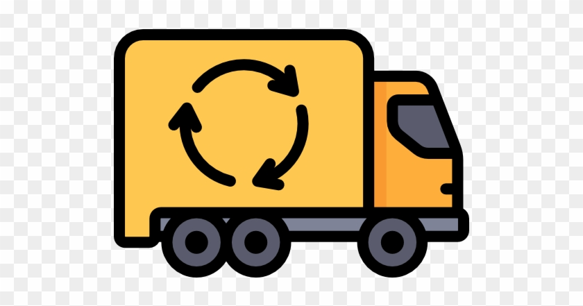 Garbage Truck Free Icon - Garbage Truck Png Icon #231837
