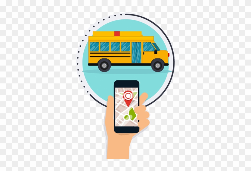 Features Incorporates - School Bus Tacking Png #232054