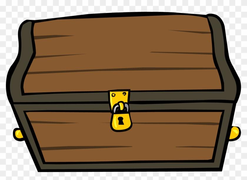 Clipart - Image - Treasure Chest - Png - Club Penguin - Club Penguin Treasure Chest #232139