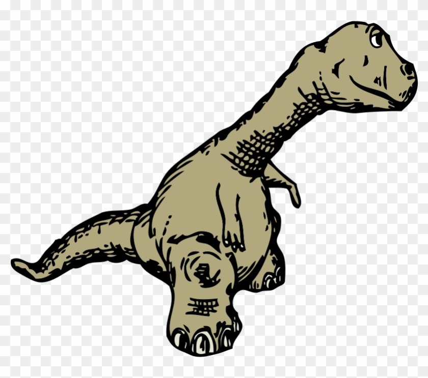 Clipart - Dinosaur Sideview - Moving Picture Dinosaur Animation #232143