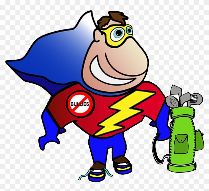 Kid Superhero Clipart - Happy Fathers Day Clip Art #232177