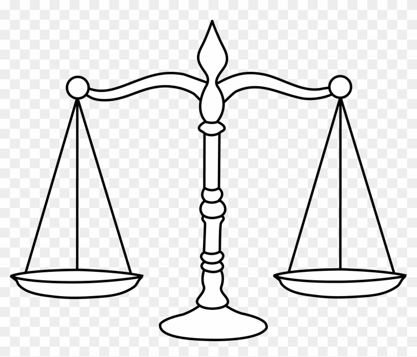 Scale Clip Art Many Interesting Cliparts Balance Scale Balance - Balance-scale-coloring-page