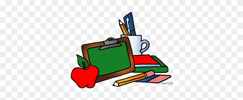 As Well As Libraries And Textbooks The School Has Provided - School Supplies Clip Art #232421