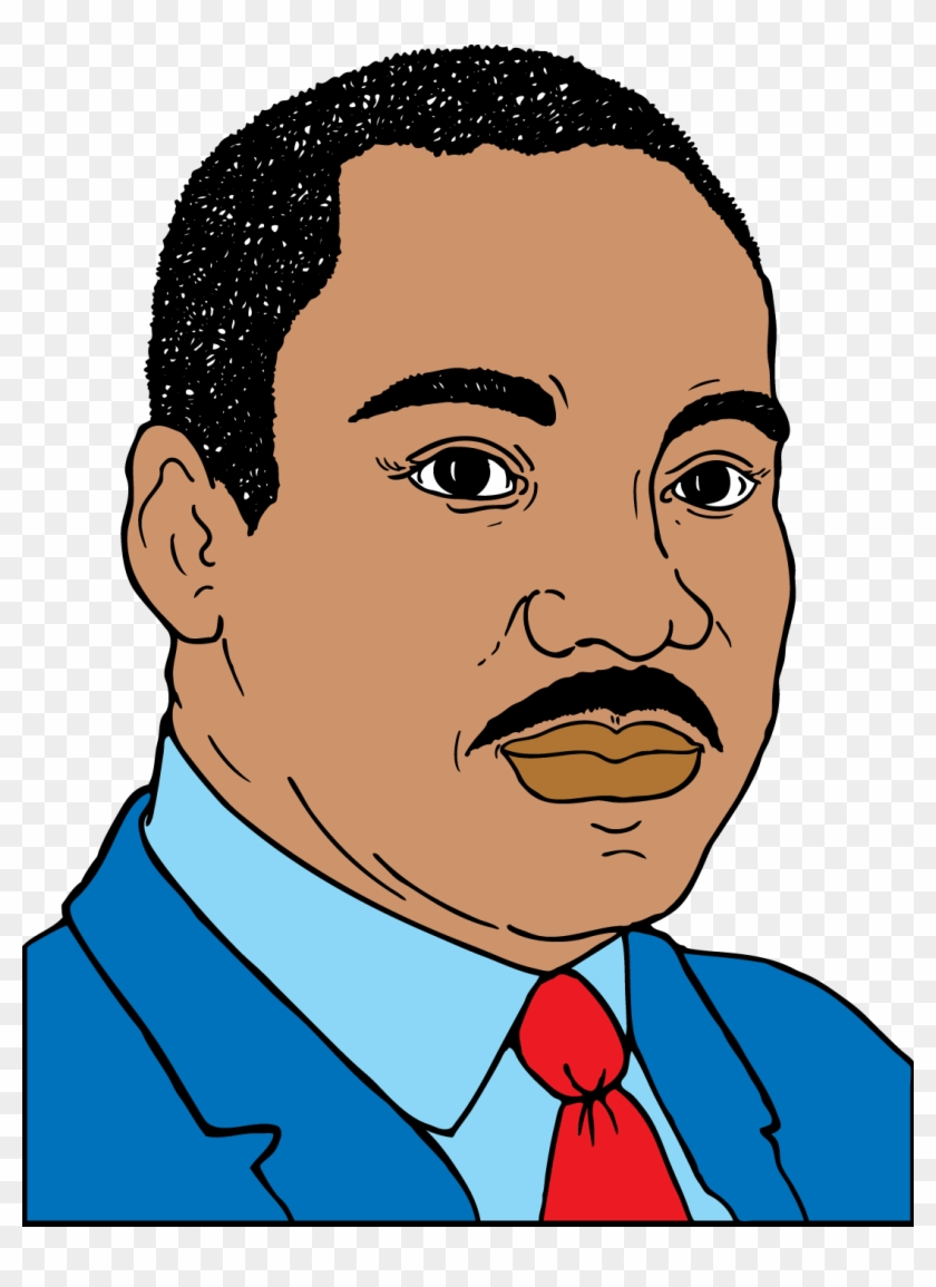 Martin Luther King Jr Clip Art - Martin Luther King Jr Cartoon #232437